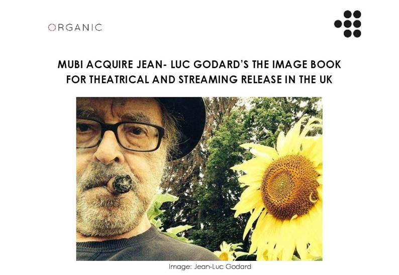 Jean Luc Godard S New Film The Image Book Acquired By Mubi