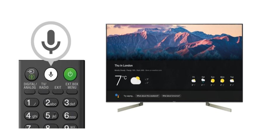 Control Bravia Tv Google Home Uk