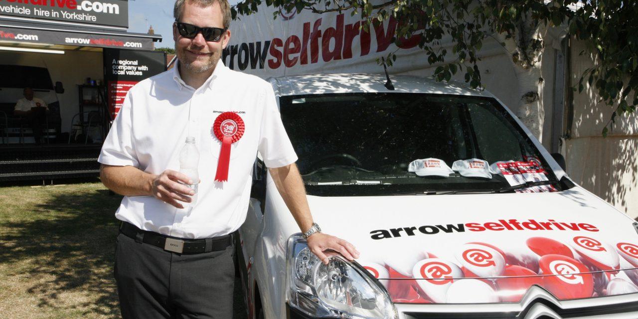 Yorkshire's Arrow Self Drive has raised more than £1,900 ...