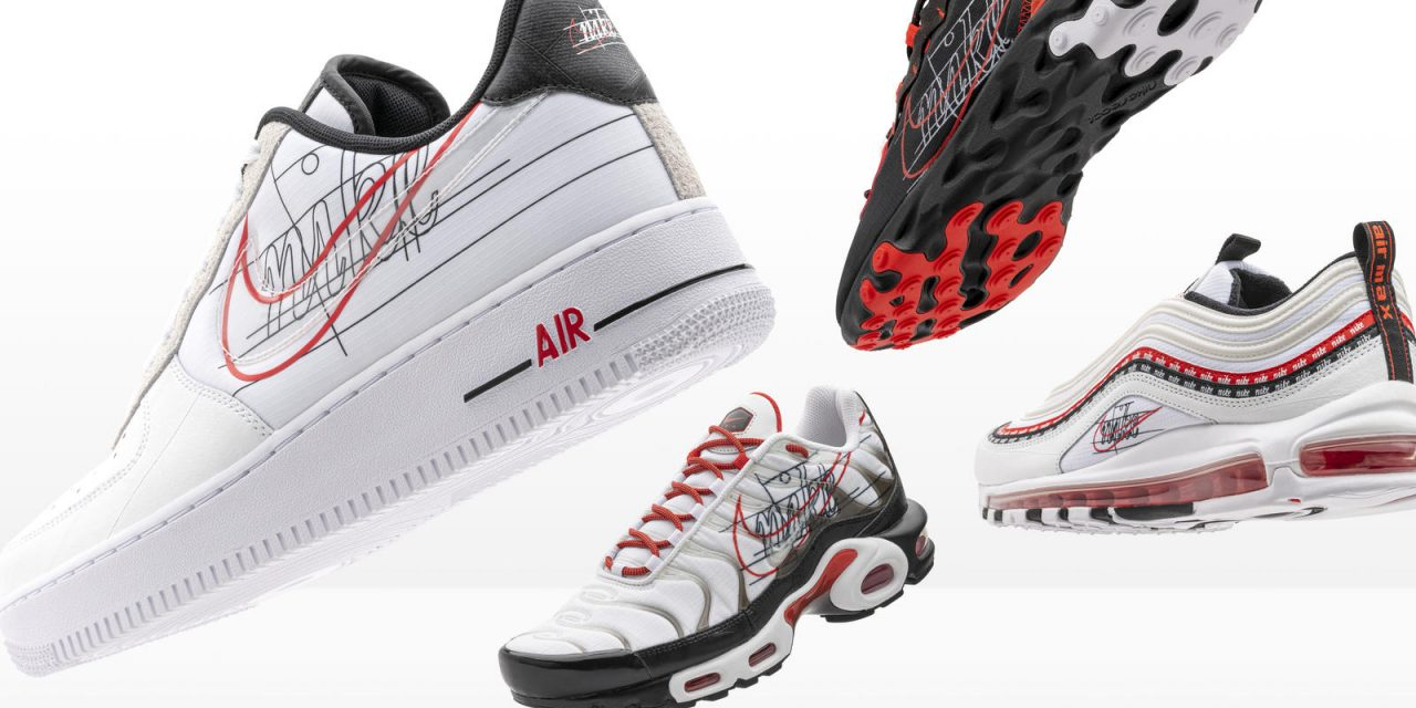 Nike And Foot Locker Inc Evolution Of Swoosh Air Force 1 Air Max